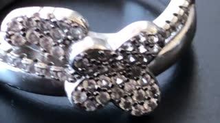 Butterfly diamonds ring beautiful designs