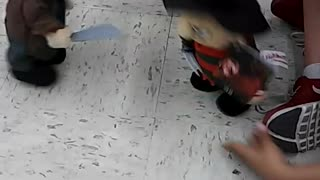 Freddy Krueger and Jason toys fight