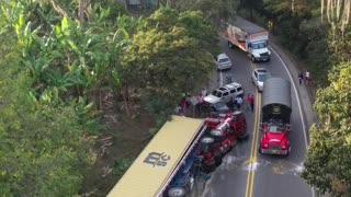Video: Grave accidente en la vía San Gil – Bucaramanga