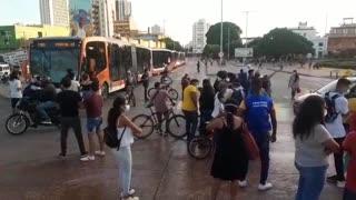 Protesta de estudiantes 28 de junio