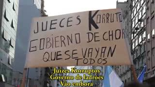 Oitava manifestação do ano na Argentina!