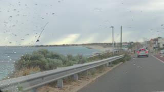 Rainy Day by the Beach