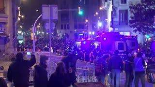 [Video] Detención Pablo Hasel: una nueva noche de disturbios