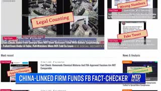 Facebook Fact Checker Funded By Company Controlled By Chinese Communist Party