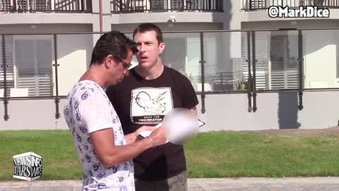 Mark Dice on Infowars After Vid Goes Viral Of CA. Believing Triceratops Are Being Hunted By J Rogan