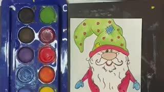 Christmas Gnome DIY Christmas Cards