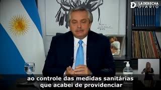 O governo argentino colocou o Exército nas ruas