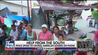 Mike Pence Interview With Fox News About Honduran Caravan