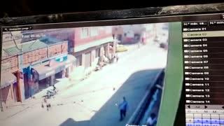 Accidente de tránsito en El Socorro