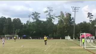 Tournament penalty kick