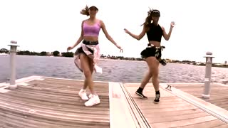 Hunk of Burning Love- Shuffle Dance