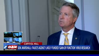 Sen. Roger Marshall: Dr. Anthony Fauci's agency likely funded gain of function virus research