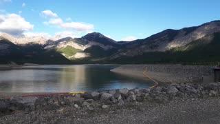 Beautiful lake kanaskis park