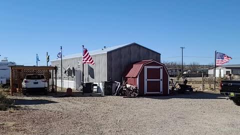 Noon at the ranch