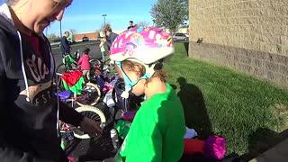 Kids First Time Kids Triathlon!!!
