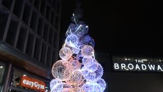 Broadway Bradford Christmas lights