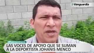 #FuerzaJohanis: Las voces de apoyo que se suman a la deportista Johanis Menco