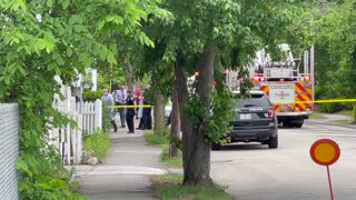 Death Investigation On South Spring Street