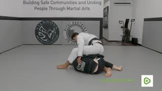 Deep Half Guard Pass to Side Control