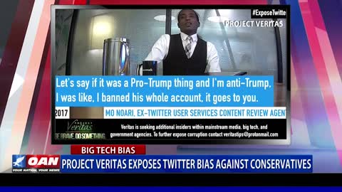 Project Veritas exposes Twitter bias against conservatives