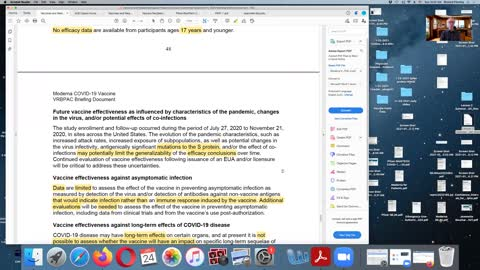 A Review of the SARS-CoV-2 Vaccine's Safety & Efficacy EUA Documents.