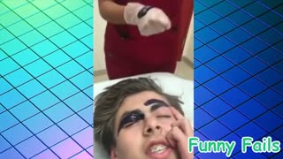 Funny beauty fails - Try not to laugh