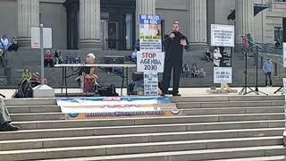 Worldwide Freedom Rally in Winnipeg May 15, 2021