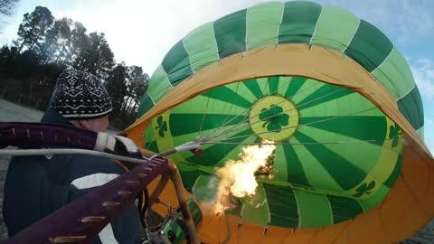 December 3rd Balloon Flight in Time Lapse