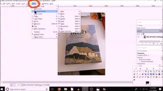 GIMP perspective tool