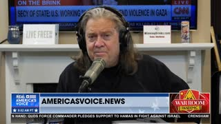 Bannon on Only Half of CDC, NIH, FDA Employees Getting the Vaccine