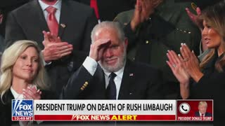 Trump Speaks About Rush Limbaugh Following His Passing
