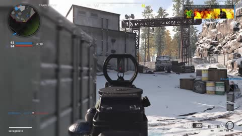 My teammates either doing the work, or getting worked- Call of Duty Cold War