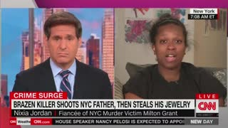 Fiancé of NYC Murder Victim Blames Biden's Policies for Crime Wave Engulfing City