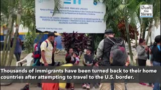 Biden halts work on border wall, thousands of migrants are sent home to Honduras from Guatemala