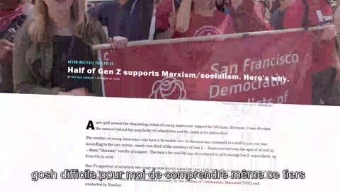 L'intrusion socialiste marxiste à l'école aux USA. (VostFR)
