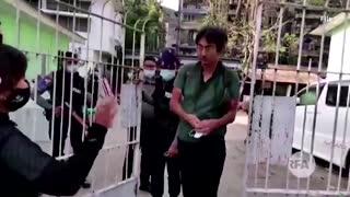 Japan calls for Myanmar junta to free journalist