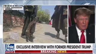 Full interview with President Donald J Trump on Hannity 8/17/21