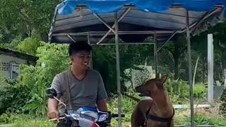 Hilarious riding a motorcycle streak