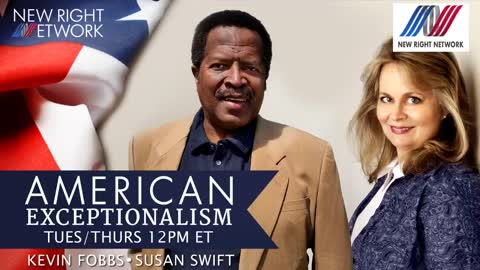 Sabine on New Right Network American Exceptionalism Episode 7