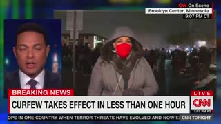 Don Lemon Admits Protests Become 'Not So Peaceful' When It Gets Dark