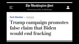 Biden LIED about Fracking