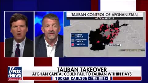 Tucker Carlson on the Afghanistan forces withdrawal - 8/13/2021