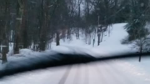 Winter storm 2020