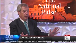EXCLUSIVE: Farage Predicts 2020 Result, Slams Media Over Hunter Hard Drive