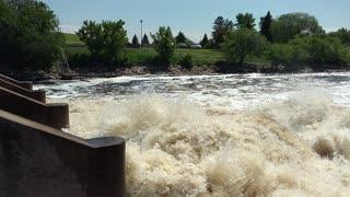 Thief River falls power dam