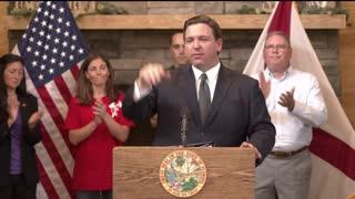 Governor De Santis No vaccine mandate in Florida