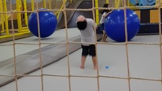 Child's First Back Flip!!!