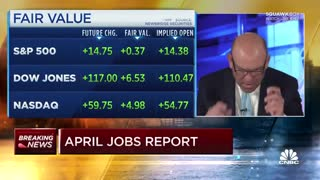 The April Jobs Numbers Were So Bad That CNBC's Steve Liesman Thought It Was A Typo