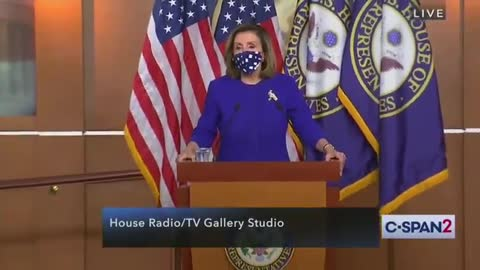 Crazy Nancy Flips Out When Asked About Hunter Biden