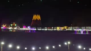 Christmas lights with b